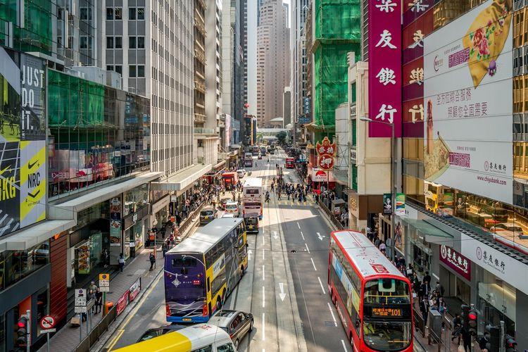Ilustrasi Kota Hong Kong Dok.Pixabay.com/MarciMarc105