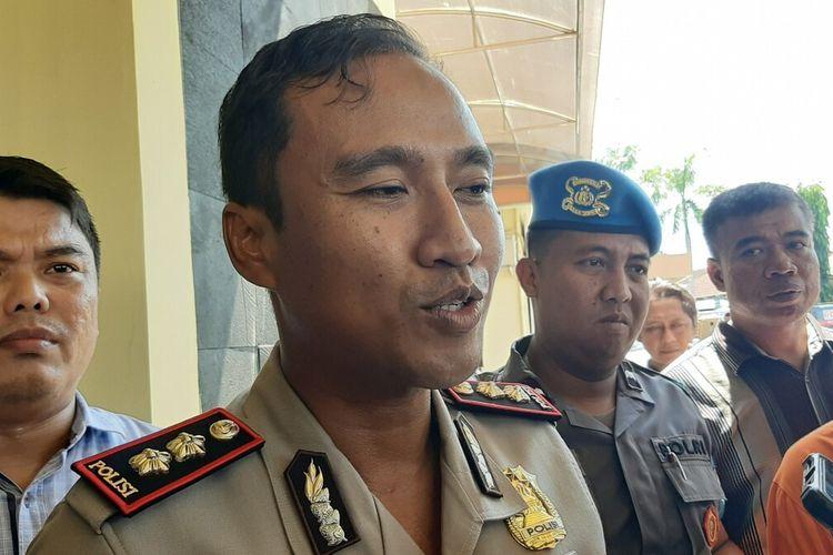 Kapolres Bantul AKBP Wachyu Tribudi Sulistiyono di Mapolres Bantul Selasa (14/1/2020)