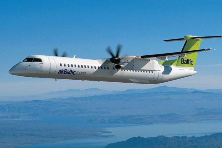 Maskapai penerbangan bertarif rendah, Latvia airBaltic, dinobatkan sebagai maskapai penerbangan paling tepat waktu di dunia. (CNN)