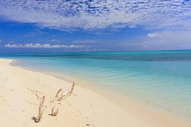 Suasana Pulau Lantigiang Selayar, Kecamatan Takabonerate, Sulawesi Selatan.  Dokumentasi Asri