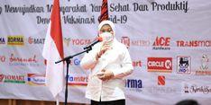 Soal Vaksinasi Kedua Pekerja Ritel di Bandung, Menaker Ida: Langkah Strategis Pulihkan Industri