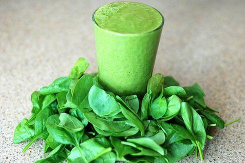 Resep Green Smoothie Pakcoy, Pengganti Sarapan Saat Diet