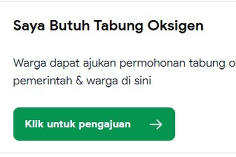 Pemerintah Provinsi Jawa Barat berkolaborasi dengan sejumlah pihak untuk mendonasikan tabung oksigen. Inisiasi ini dinamakan Oksigen Masyarakat Jawa Barat (OMAT). Layanan ini dapat diakses di website Pikobar.
