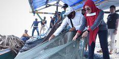Jajal Teknologi Purse Seine, Bupati Luwu Utara Tangkap 150 Kilogram Ikan