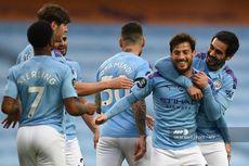 Man City Vs Newcastle, Tendangan Bebas David Silva Warnai Kemenangan City
