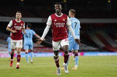 Arsenal Vs West Ham, Kata-kata Pertama Nketiah Usai Bawa The Gunners Menang