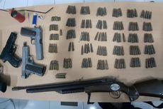 Senjata Api dan Ratusan Amunisi Disita dari Dua Bandar Sabu yang Tertangkap