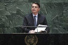 Hadiri Sidang Umum PBB, Presiden Brasil: Media Berbohong soal Kebakaran Amazon