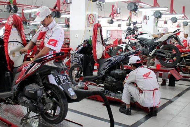 Bengkel resmi Honda di Jawa Barat buka setiap hari.
