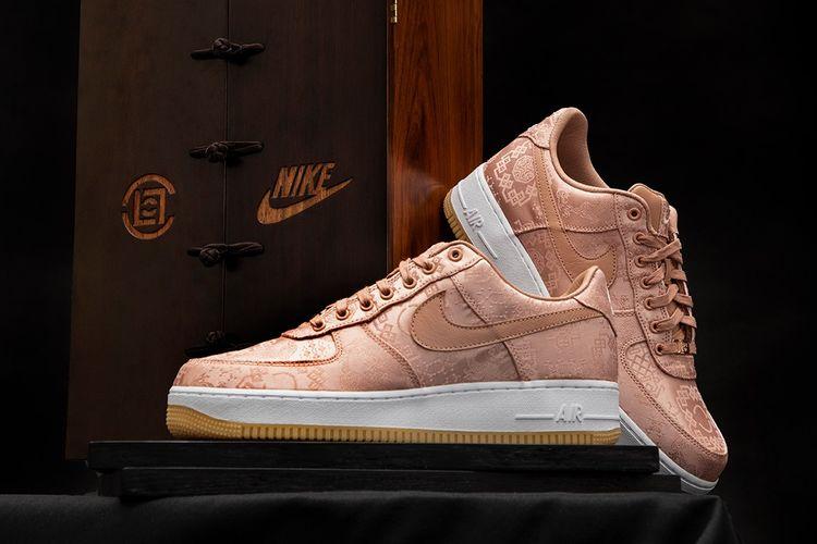 Nike Rose Gold Silk