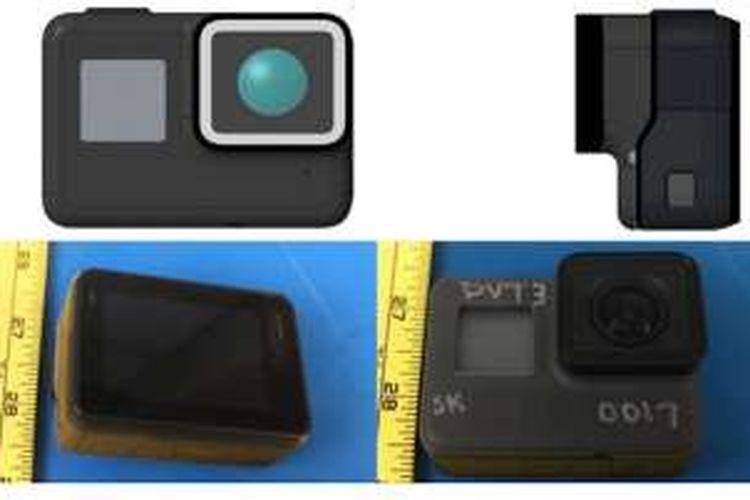 Bocoran foto kamera aksi GoPro Hero 5