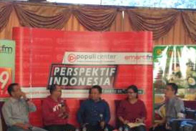 Diskusi Populi Center dengan tajuk