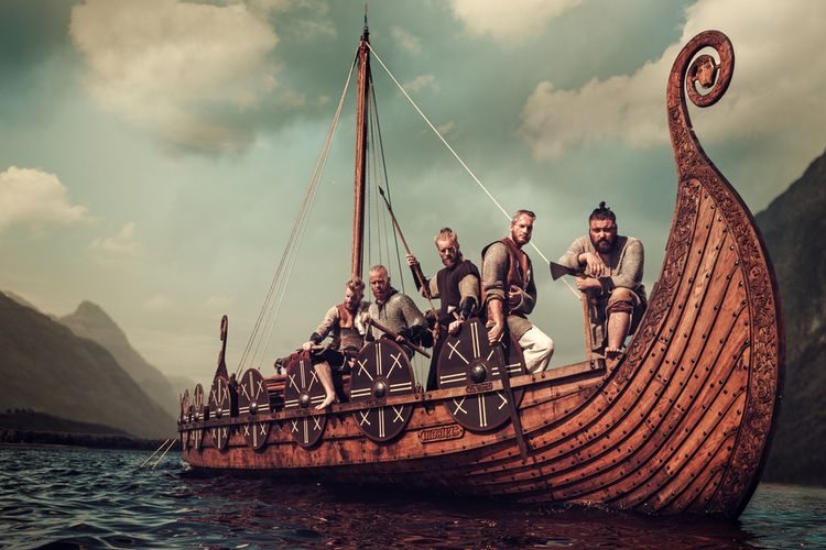 Ilustrasi bangsa Viking. Studi baru mengungkap keturunan orang Viking tidak hanya dari Skandinavia, tetapi secara genetik juga berasal dari Eropa Selatan dan Asia.