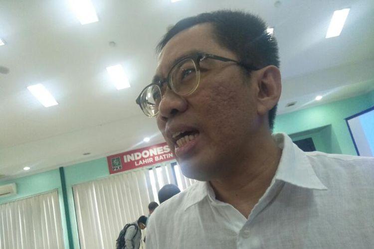 Faisol Riza di Kantor DPP PKB, Jakarta Pusat, Jumat (6/3/2020)