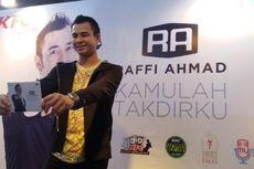 Raffi Ahmad Berulang Kali Rekam Vokal untuk Albumnya