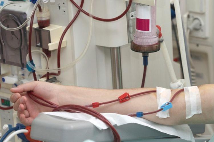 Ilustrasi cuci darah.