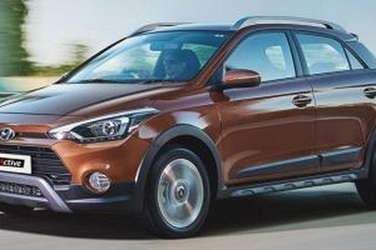 Varian baru Hyundai i20 Active, terlihat lebih macho.