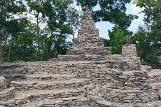 Berawal dari Keisengan Sunarti Susun Pecahan Batu, Bangunan Serupa Candi Ini Jadi Obyek Wisata