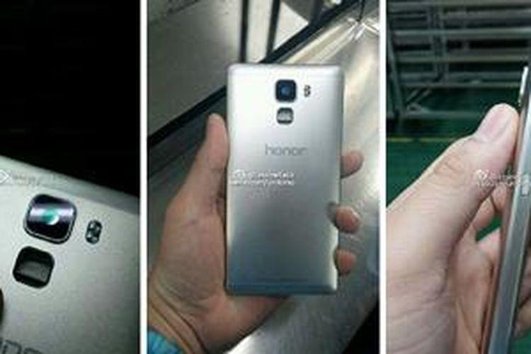 Bocoran foto Huawei Honor 7 dengan kapasitas RAM 4 GB
