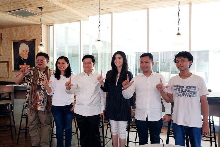 Sosialiasi kampanye Beasiswa untuk Negeri yang memberikan akses akun pembelajaran online gratis untuk 1.100 akun (14/5/2018)