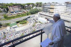 Muncul Kembali Usai Operasi, Paus Fransiskus Singgung Layanan Kesehatan Universal Gratis