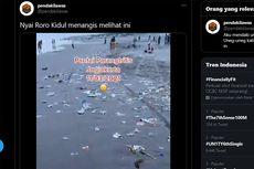 Viral Video Pantai Parangtritis Penuh Sampah Usai Libur Panjang