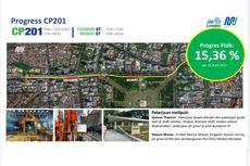 Progres Konstruksi MRT Fase 2 Capai 15,36 Persen