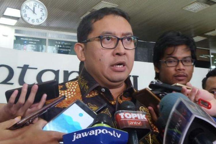Wakil Ketua DPR RI Fadli Zon di Kompleks Parlemen, Senayan, Jakarta, Rabu (7/3/2017).