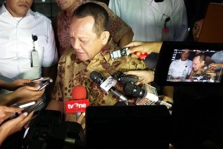 Nurhadi saat masih menjabat Sekretaris Mahkamah Agung, seusai diperiksa di Gedung Komisi Pemberantasan Korupsi (KPK), Jakarta, Selasa (8/3/2016).
