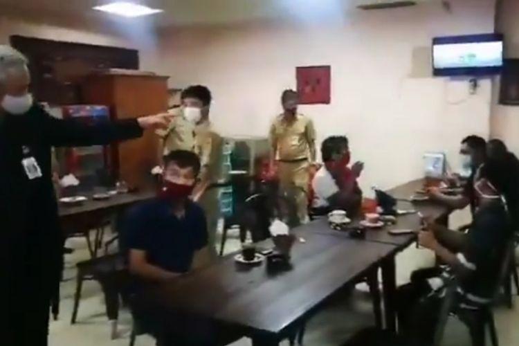Tangkapan layar video viral