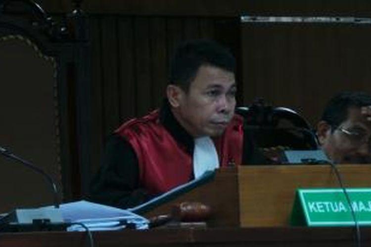 Ketua Majelis Hakim Persidangan kasus dugaan korupsi impor daging sapi, Nawawi Pamolango.