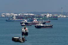 Lima Kapal di Selat Singapura Diserang Perompak