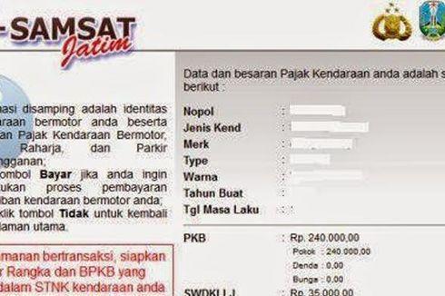 Sistem e-Samsat Baru Tersedia di Satu Bank