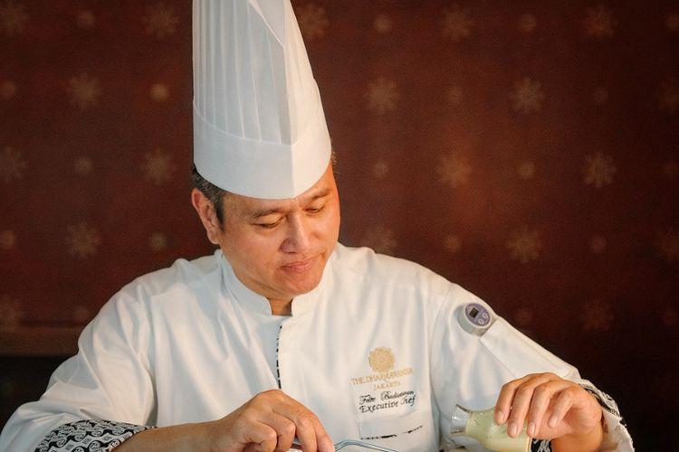 Executive Chef Felix Budisetiawan dari The Dharmawangsa Jakarta