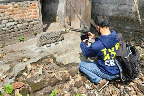 Disbudpar Kediri Teliti Arca Kepala Kala yang Ditemukan Warga, Diduga dari Mataram Kuno