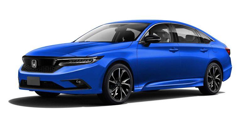 Tampilan Honda Civic terbaru hasil olah digital