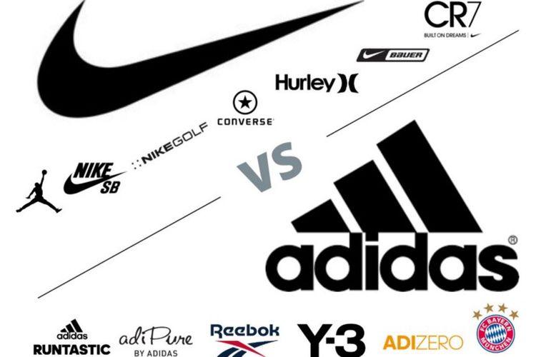 Rivalitas Nike vs Adidas