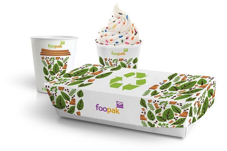 Foto kemasan Foodbox & Cup Green Pack yang bisa didaur ulang