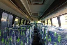 Bus PO ALS Sering Memakai Kursi Berbahan Fabric Bukan Kulit