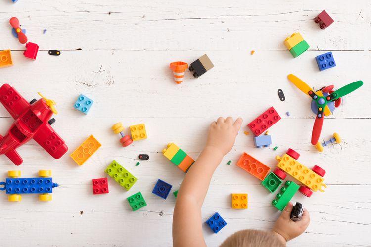 Ilustrasi mainan anak