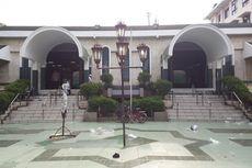 Hari Pertama PSBB Transisi, Masjid Sunda Kelapa Gelar Shalat Jumat dengan Protokol Kesehatan Ketat