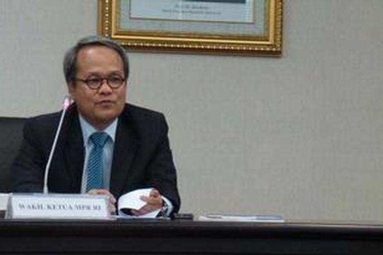 Wakil Ketua Majelis Pemusyawaratan Rakyat Hajriyanto Y Thohari