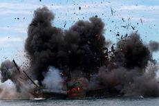 31 Kapal Pencuri Ikan Ditenggelamkan Serentak