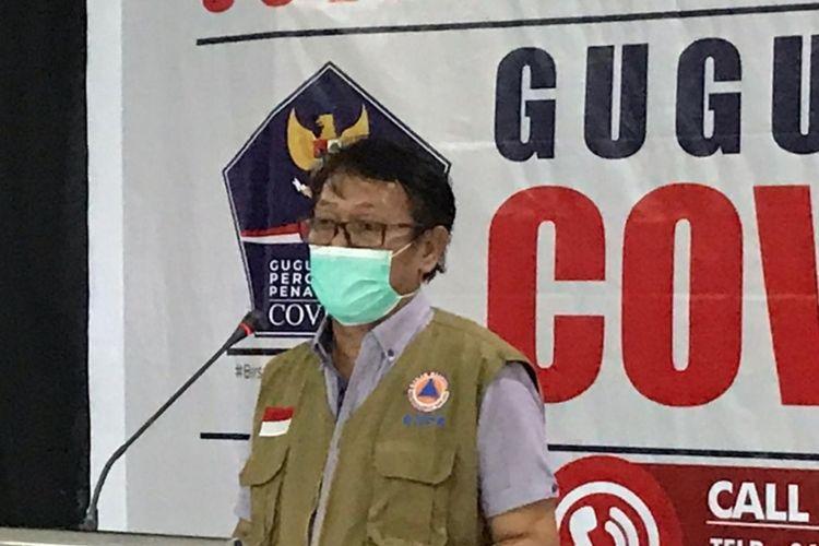 Jubir covid-19 posko gugus tugas Sultra dr La Ode Rabiul Awal