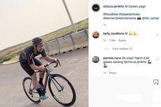 Chicco Jerikho, antara Sepeda Balap dan Sepeda Lipat