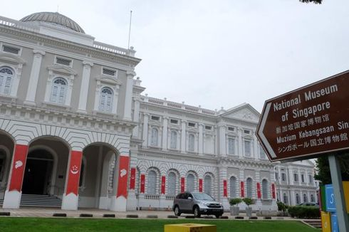Satu Jam Saja Tak Cukup di Museum Nasional Singapura