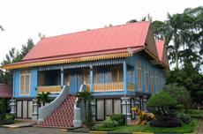 Rumah Melayu Atap Belah Bubung, Riau