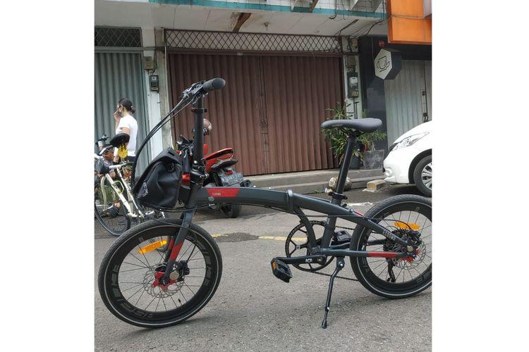 Ecosmo Z10, sepeda lipat produksi Element ini menjadi salah satu pilihan untuk mereka yang memiliki bujet di bawah Rp 6 juta.