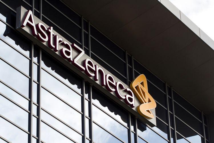 Perusahaan farmasi dan biofarmasi multinasional Inggris-Swedia AstraZeneca plc di San Francisco Selatan.