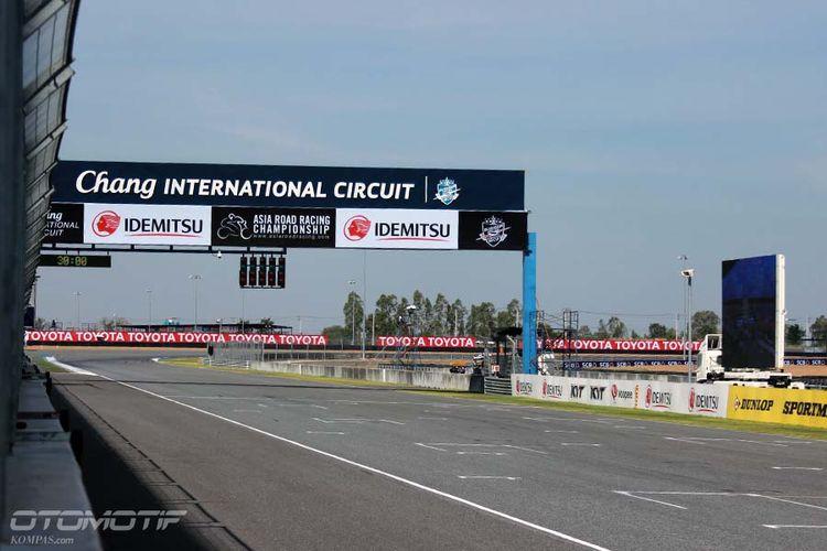 Buriram United International Circuit (BRIC) atau Chang International Circuit bakal menggelar MotoGP pada 2018.